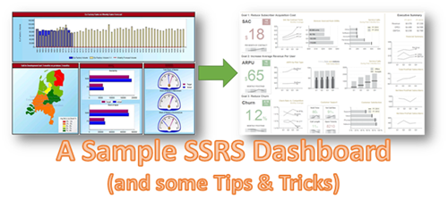A Sample SSRS Dashboard and some Tips & Tricks