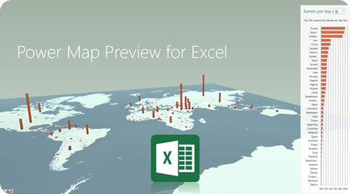 Power Map Preview – Exploring the NEW features!