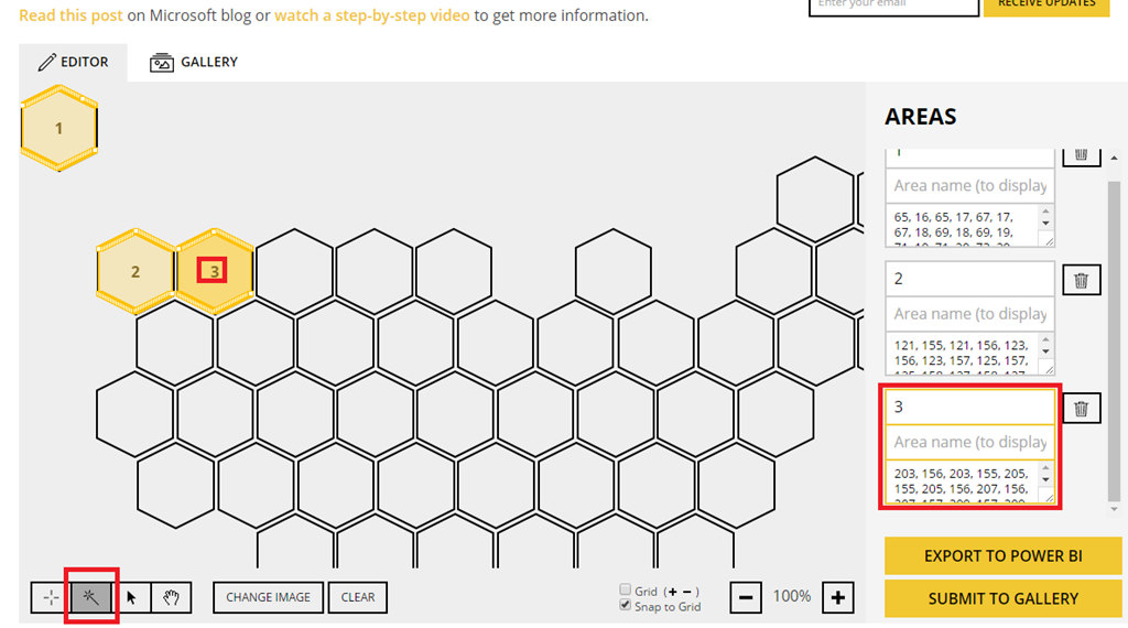 Hex Tile Grid Maps for Power BI – Some Random Thoughts