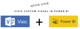 Visio Custom Visual (Preview) for Power BI – Quick Look